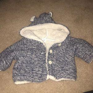 Gap 0-3 months baby winter coat